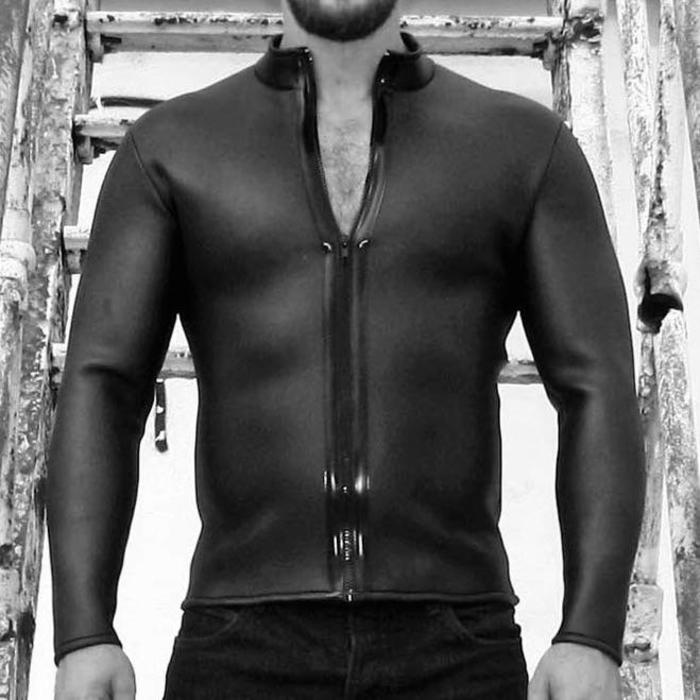 Neoprene, Shirt, Long Sleeve
