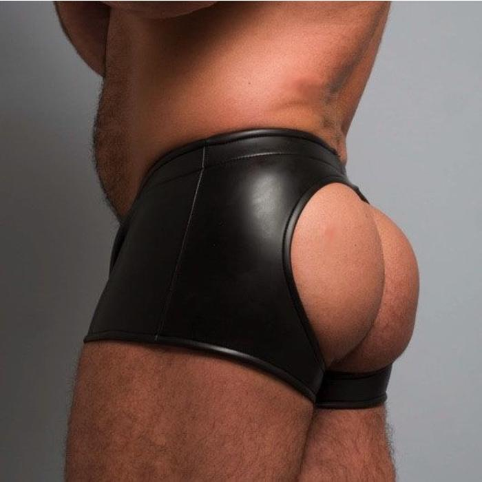 Neoprene, Short Shorts, Backless