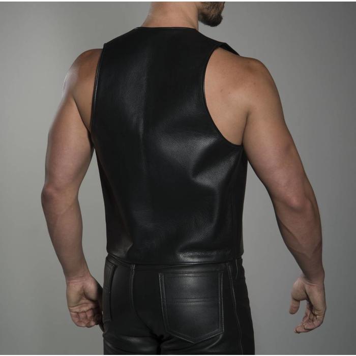 Solid Square Vest