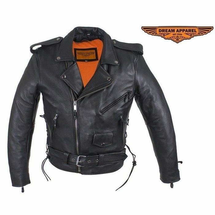 Branson, Lined Motorcycle Jacket