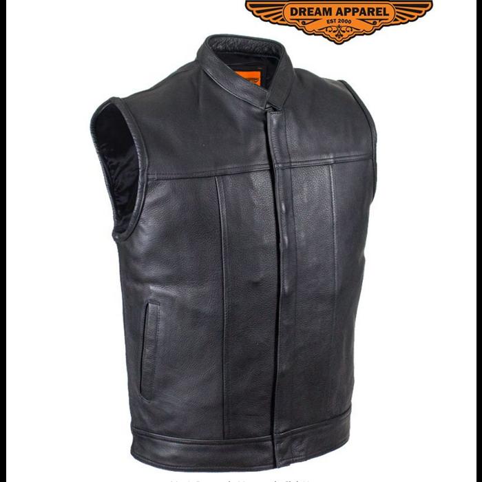 Branson, Naked Leather Vest