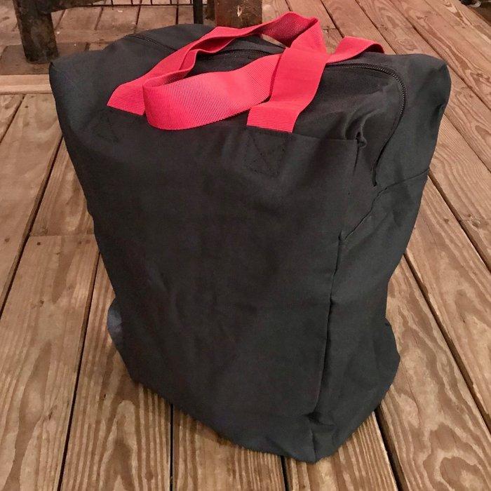 Rim Seat, Canvas Bag with zipper closure