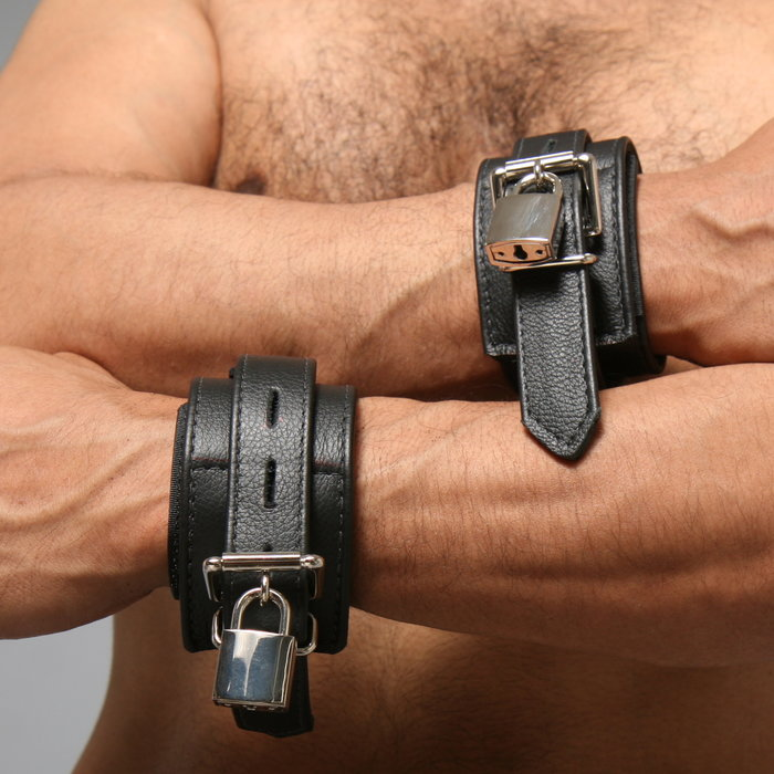 Restraints, Leather with Velcro