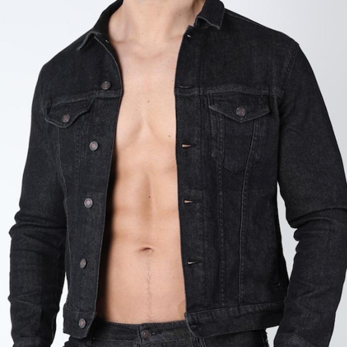 Tom of Finland Hustler Denim Jacket