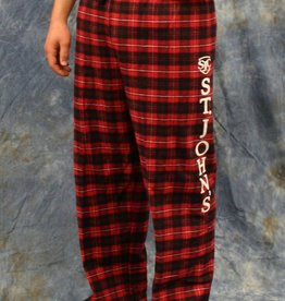 Clothing Unisex Red/Black Flannel Pant