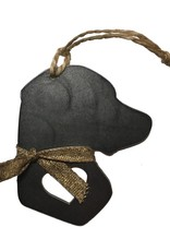 BE Outfitters Ornament-Rustic Steel Dog