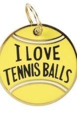 Pet Charm-Tennis Balls