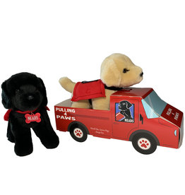 P4P Truck Pull-Service Dog Stuffy