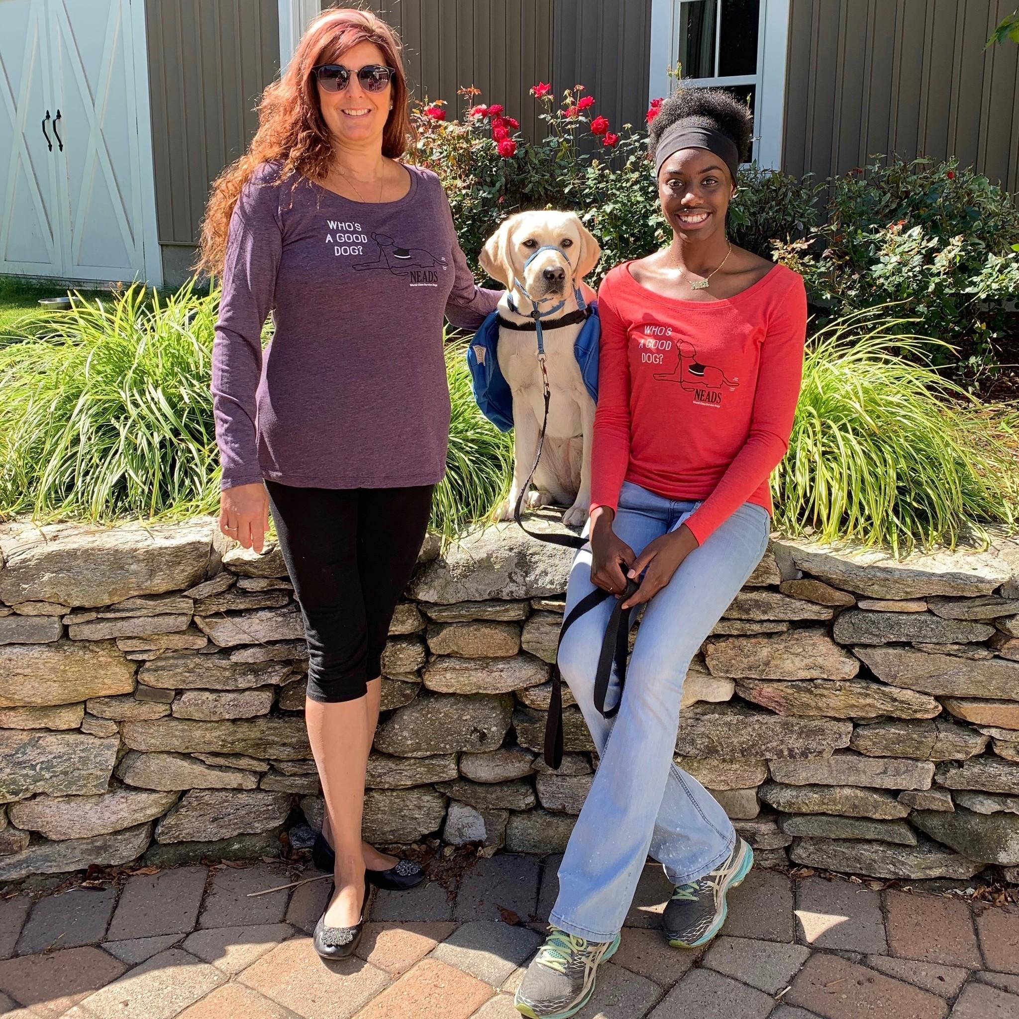 Women's Long Sleeve T-Good Dog