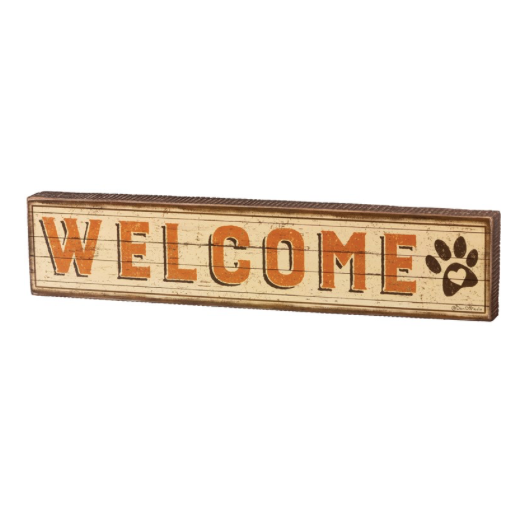 Sign- Welcome