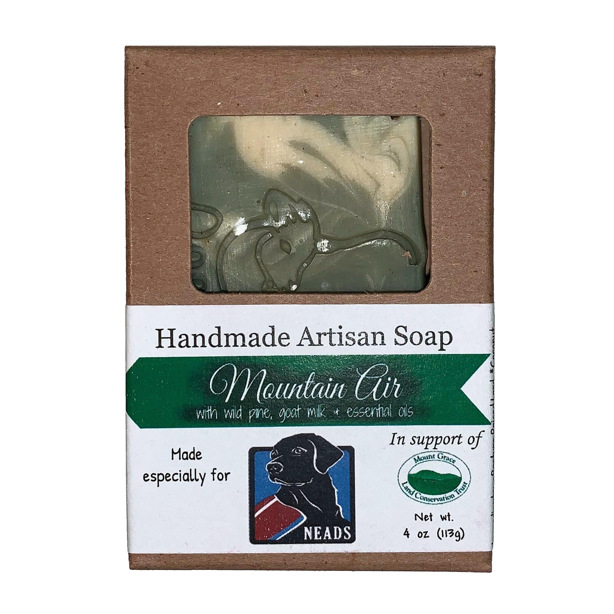 Barefoot Natural Farms Soap-Mountain Air