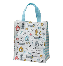 Reusable Tote Bag-Love