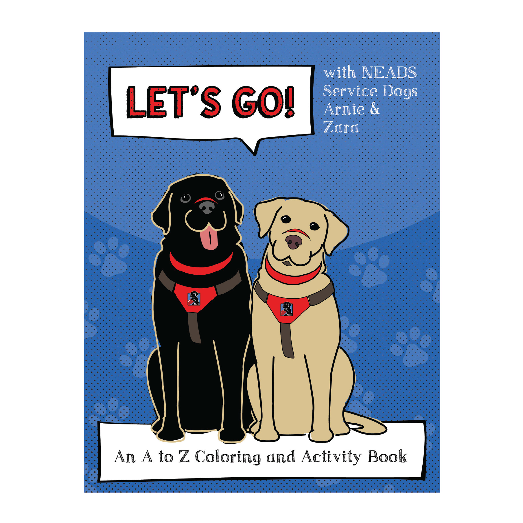 A to Z Coloring & Activity Book