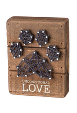 Sign- String Art Unconditional Love