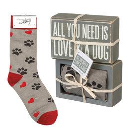 Gift Set-Sign & Socks