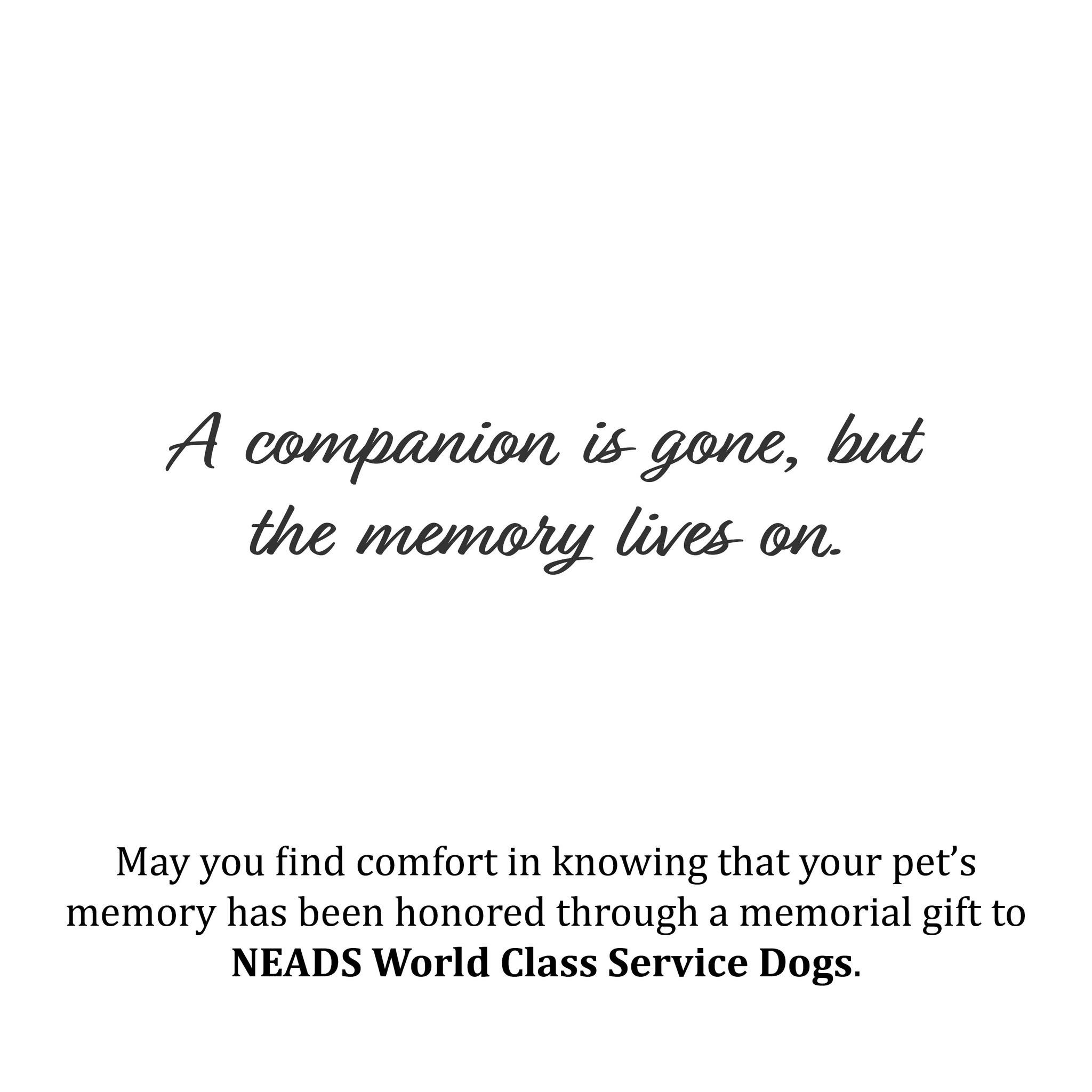 2021 Memorial Cards-Sitting Dogs