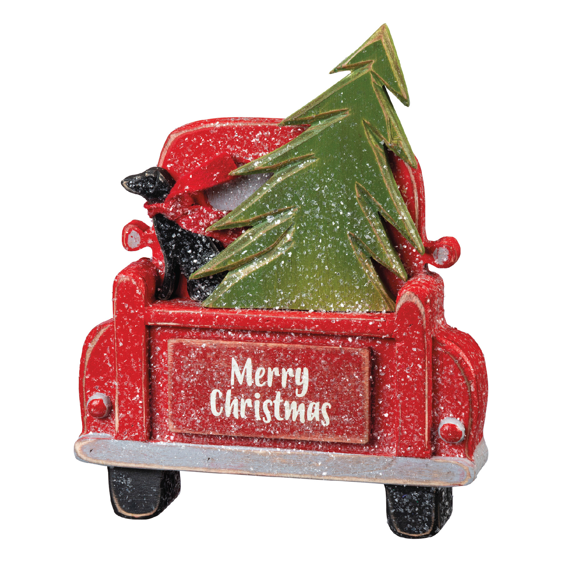Sign-Merry Christmas Truck