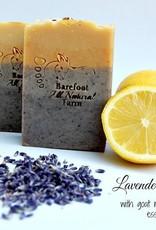 Barefoot Natural Farms Soap-Lavender Lemonade