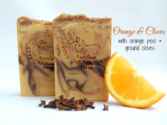 Barefoot Natural Farms Soap-Orange & Cloves