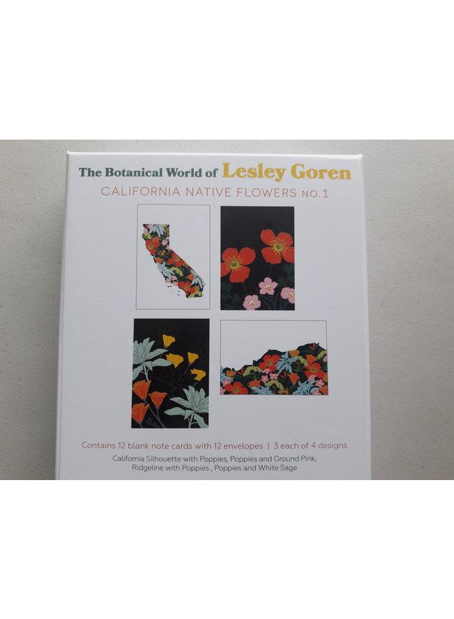 The Botanical World of Lesley Goren: California Native Flowers #1