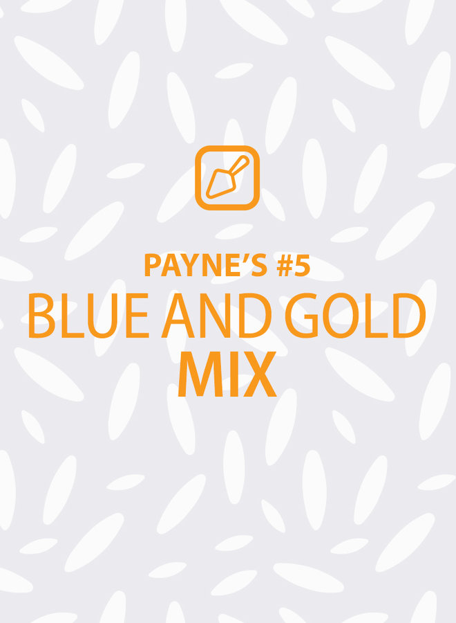 Payne's #5: Blue & Gold Mix