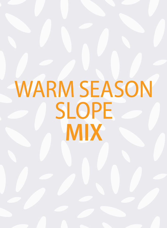 Warm Season Slope Mix