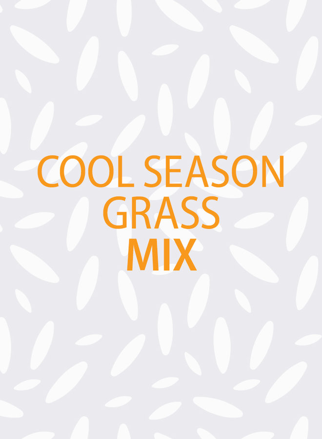 Cool Season Grass Mix