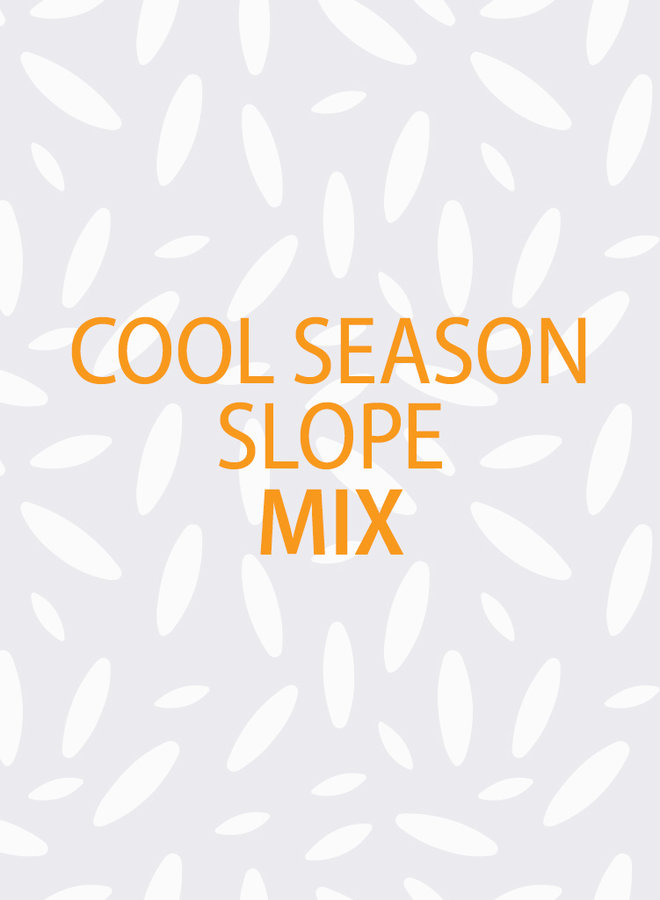 Cool Season Slope Mix