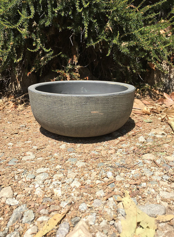 Pot - Design Low Bowl Gray