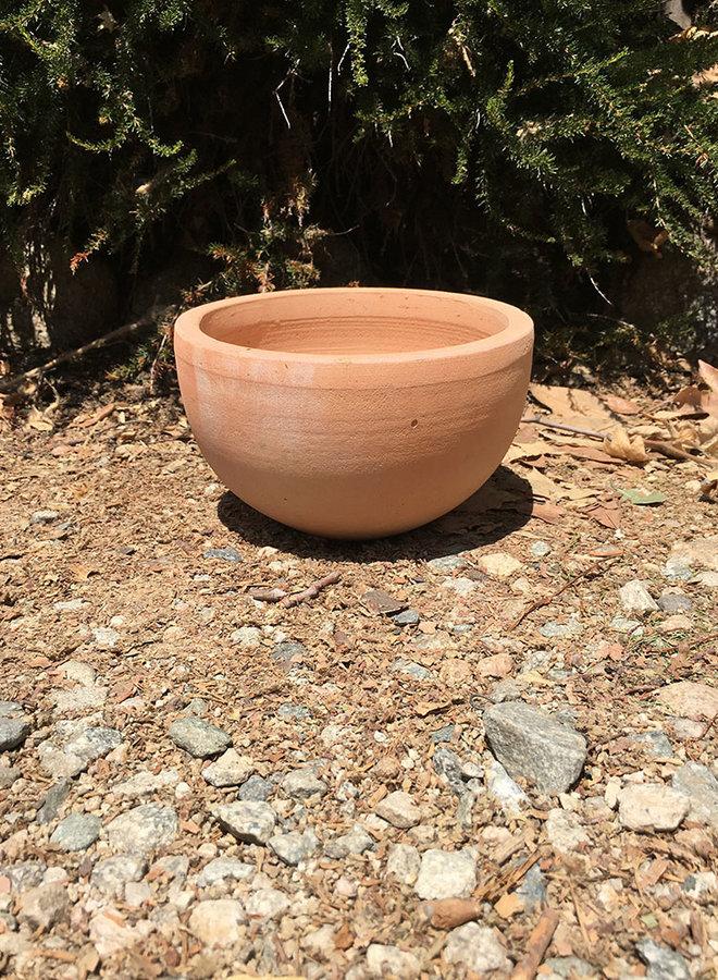 Pot - Tuscan Simple Bowl Terracotta