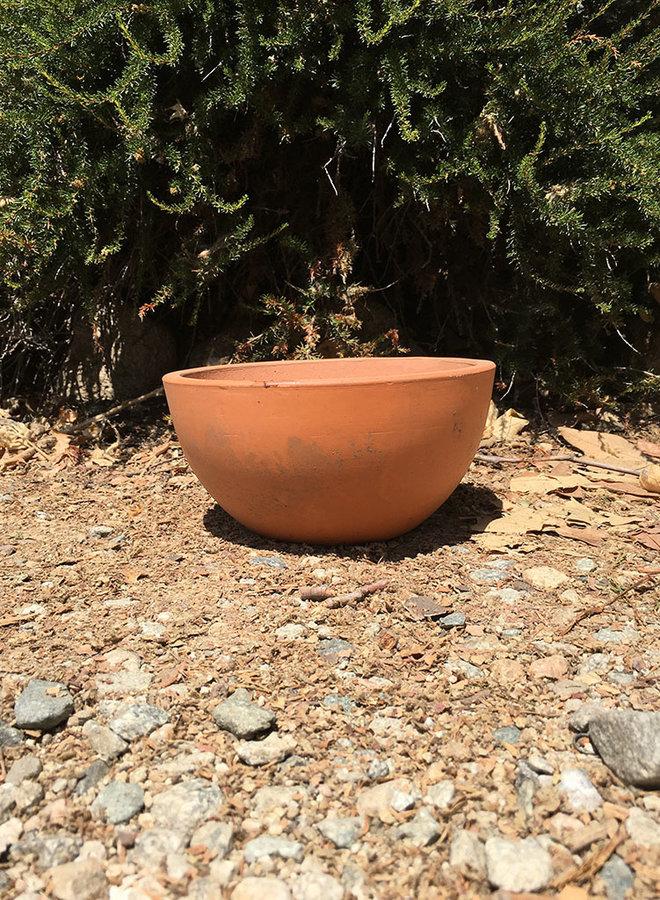Pot - Bowl Dark Terracotta