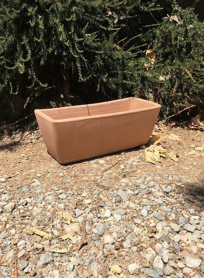 Pot - Tapered Window Box Terracotta