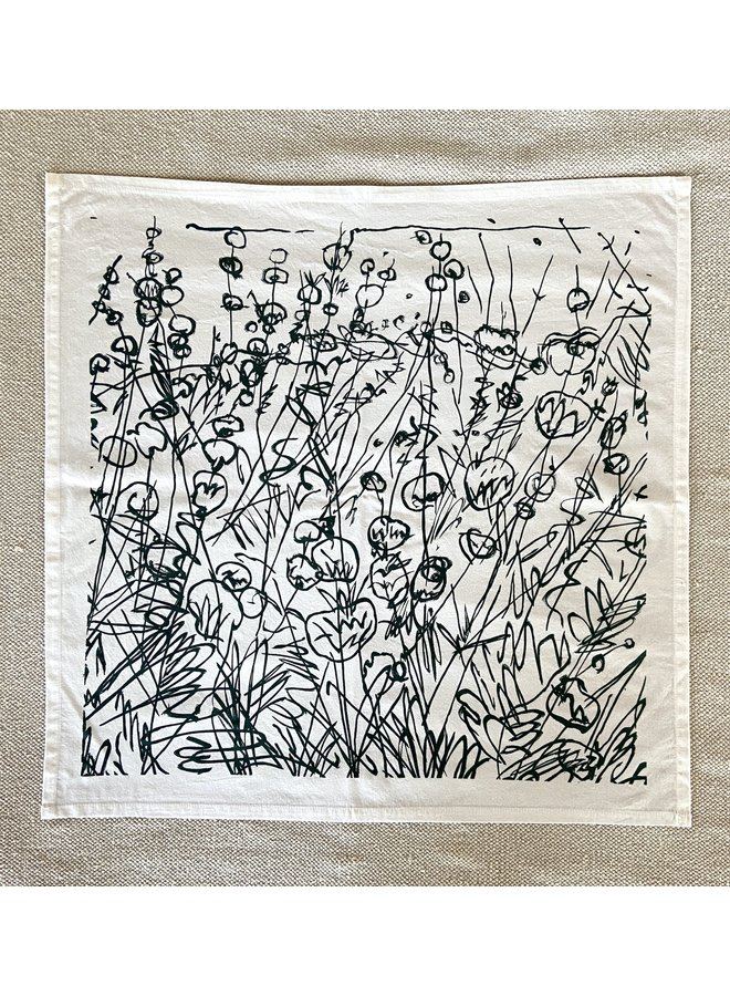 Mark Roeder - Hand-Printed Scarf