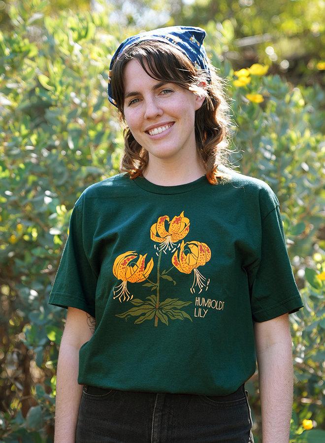 Adult Unisex T-Shirt - Humboldt Lily