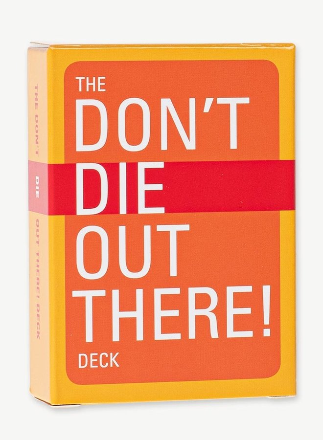 Don't Die Out There  - Playing Cards