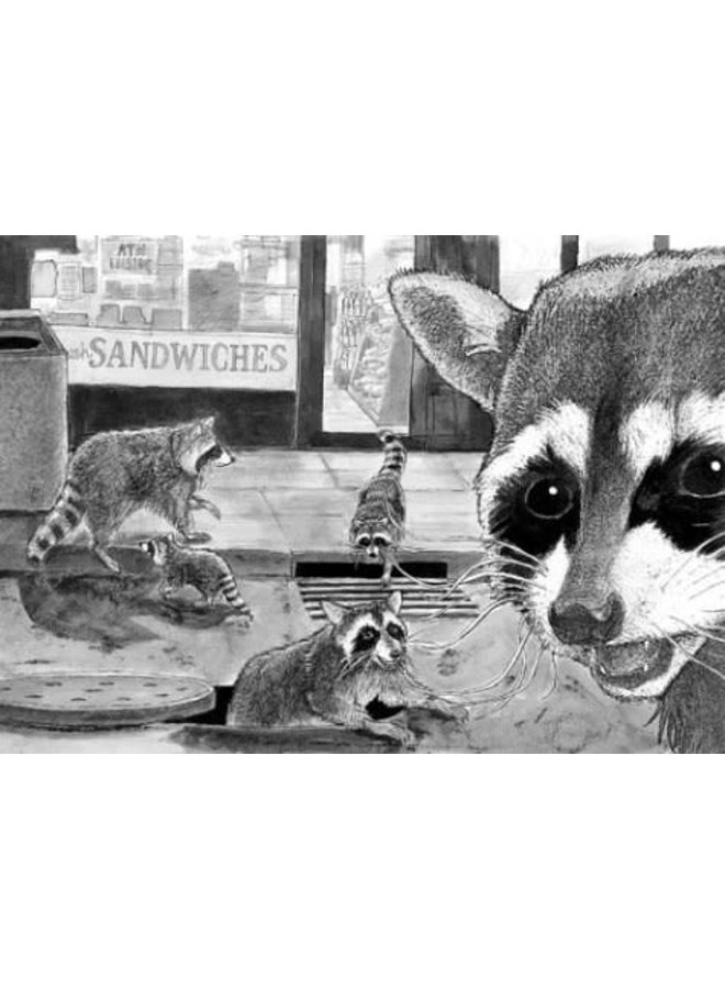 The Raccoon Next Door: Getting Along with Urban Wildlife