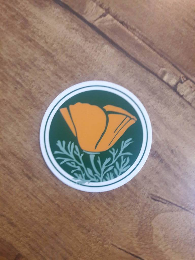 TPF Round Circle Sticker