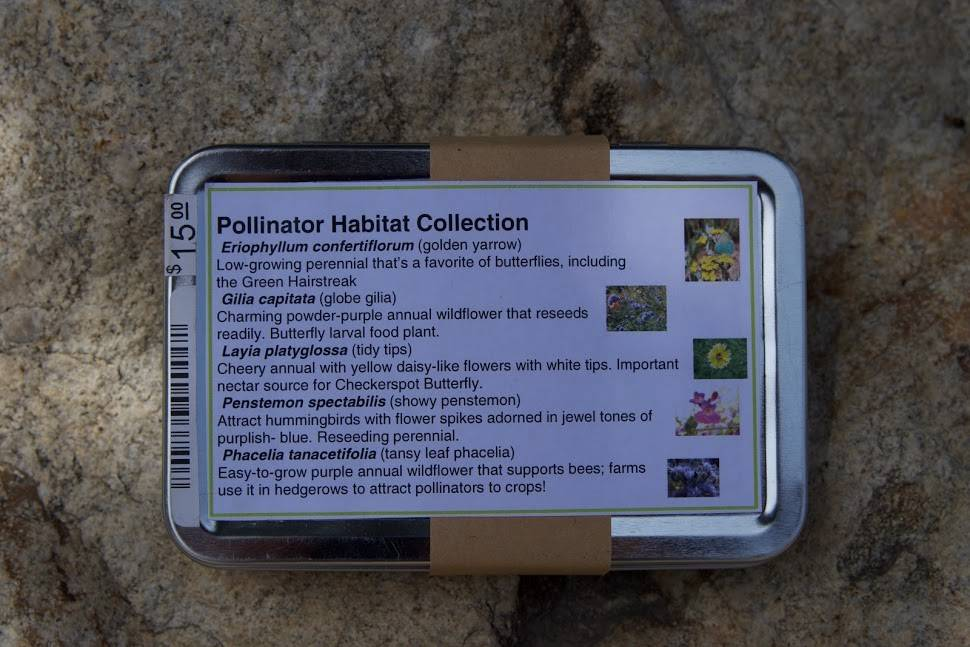 Pollinator Habitat Seed Collection