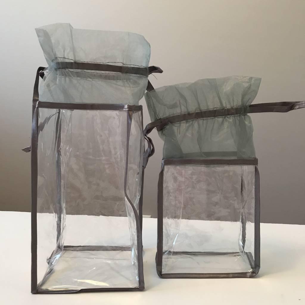 Papermart Mesh Rectangular Shaped Rigid Bag