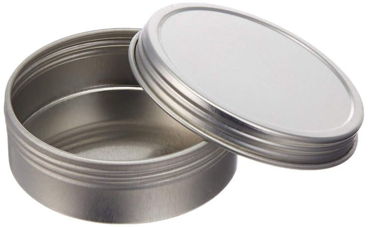 Papermart Screw Top Round Tin Containers