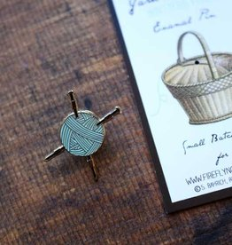 Firefly Notes Yarn & Needles Enamel Pin