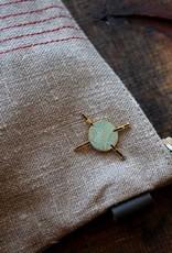 Firefly Notes Yarn and Needles Enamel Pin