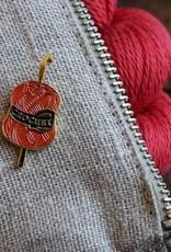 Firefly Notes Crochet Enamel Pin