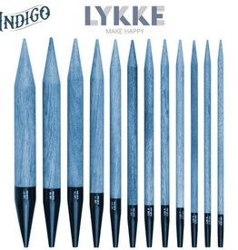 "Lykke Crafts Lykke 3.5"" Interchangeable Needle Tips-Indigo"