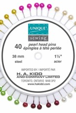 Unique Plastic Head Pinwheel - All Purpose Pins