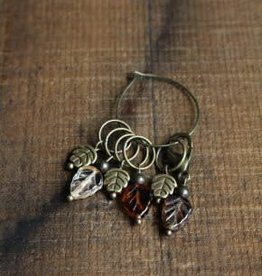NNK Press Autumn Leaf Stitch Markers