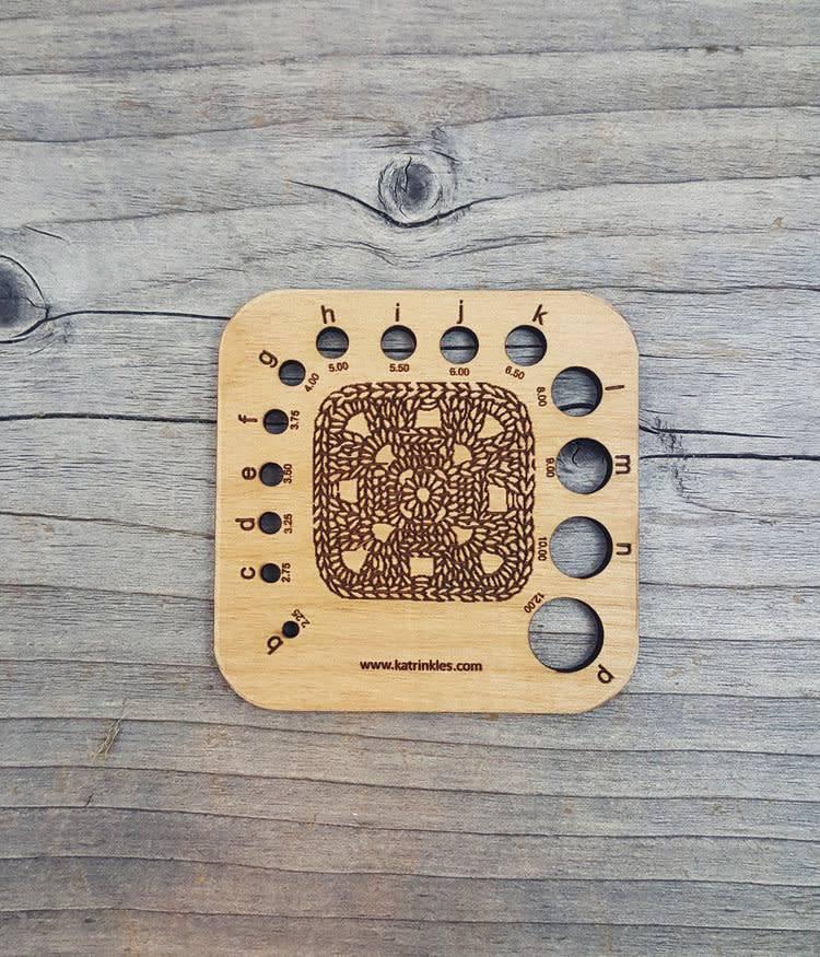 Katrinkles Crochet Hook Gauge