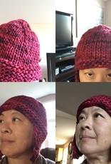 Rasta Trapper Hat 873 (Stitch Red)