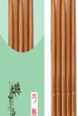 "ChiaoGoo CG Bamboo Double Point (8"")"