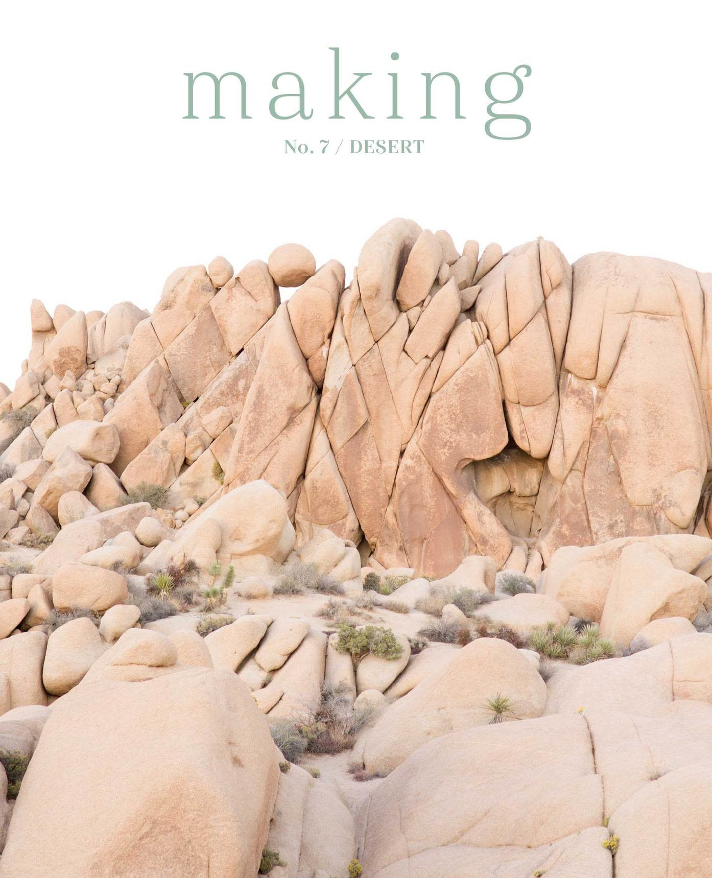 Making Magazine No 7 / Desert - Pre-Order